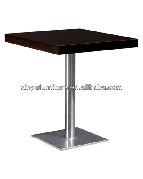 Cafe Dining Tables Solid Wood Top Restaurant Table Xt6881 View Restaurant Table Xin Yu Product Details From