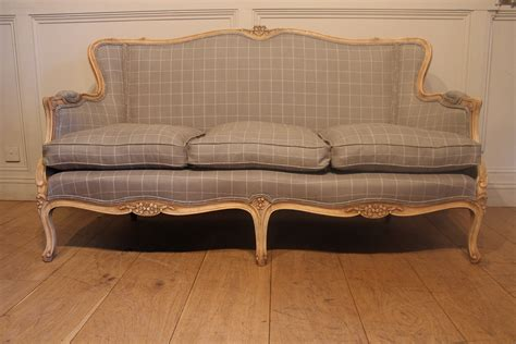 bench sofa uk sold 19c french bleached reupholstered sofa antique
