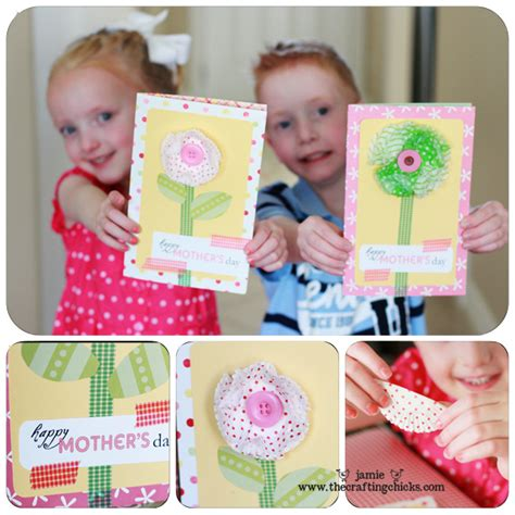 mothers day cards toddlers can make s day card kid craft crafting and cards