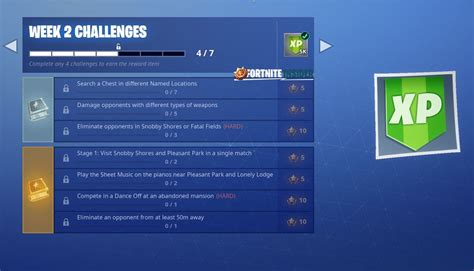 fortnite week 2 challenges leak season 7 week 2 fortnite challenges fortnite intel