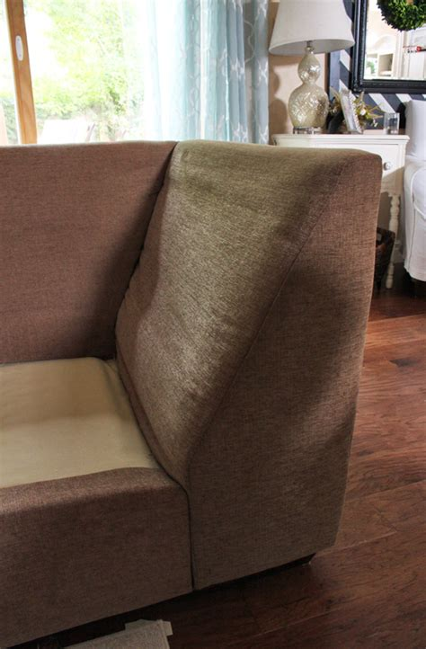 sectional sofa slip cover how to make a sectional slipcover confessions of a