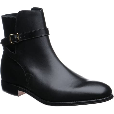 Georges Handmade Boots - herring shoes herring classic george boot in black
