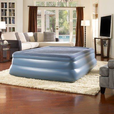 simmons beautyrest skyrise 19 inch pillow top express air bed with benedetta