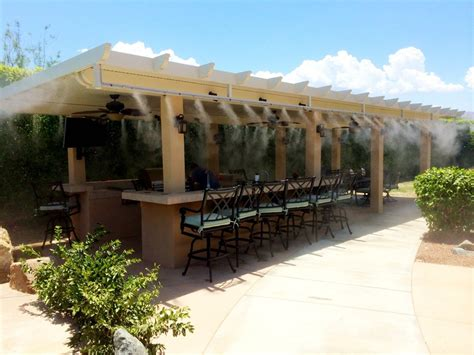 Best Patio Misting System by Outdoor Entertaining Is Cooler Than With Misting