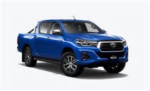 Toyota Diesel 2019 by 2019 Toyota Hilux Facelift Revealed On Australian Website