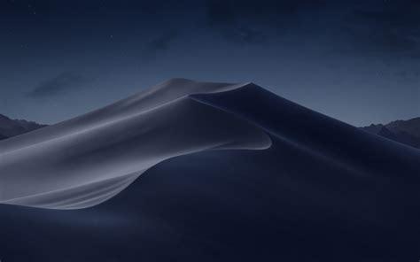 macos mojave night desert  wallpapers hd wallpapers