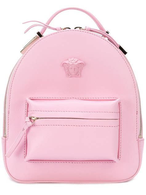 Tas Palazzo Backpack 24 versace medusa palazzo backpack in pink lyst