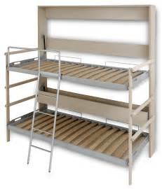 Folding Bunk Bed The Murphy Bunk Bed Italian Murphy Beds