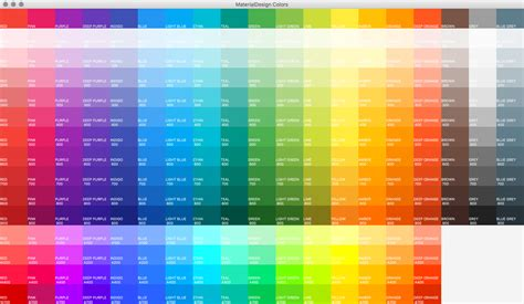 java color codes harmonic code colors