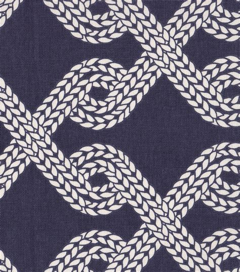 nautical home decor fabric nautical fabric rope twist home decor fabric jo ann