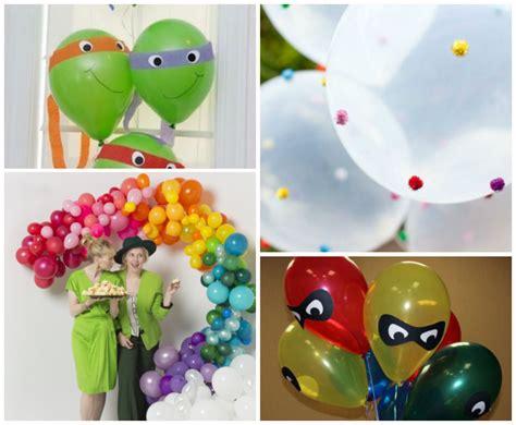 decorar con globos manualidades con globos para decorar una fiesta de