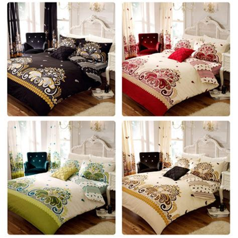 Funky Bedding Sets Funky Duvet Quilt Cover Sets Pillowcases Bedding Bed Linen Polycotton Floral Ebay
