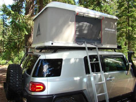 Roof Rack Tent by Roof Top Tent On Oem Rack Toyota Fj Cruiser Forum