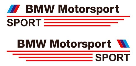 Bmw Aufkleber Motorsport by Product Bmw Motorsport Sport Decal Sticker