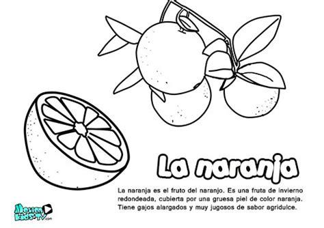 imagenes educativas para imprimir y colorear descargables educativos dibujos para colorear la naranja