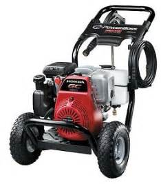 Honda Power Washer 3100 Psi Powerboss 20649 2 7 Gpm 3100 Psi Gas Pressure Washer W