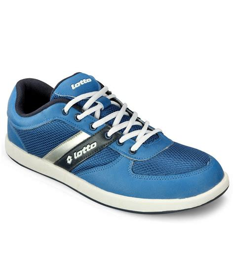 lotto milan blue casual shoes price in india buy lotto