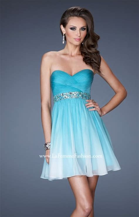 la femme   beach babe prom dress