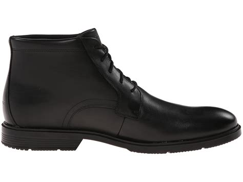 Dres Chika Black rockport city smart waterproof dress chukka boot in