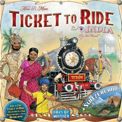 Ticket To Ride Map Collection Volume 2 India Switzerland ticket to ride map collection vol 2 india more than a caf 233