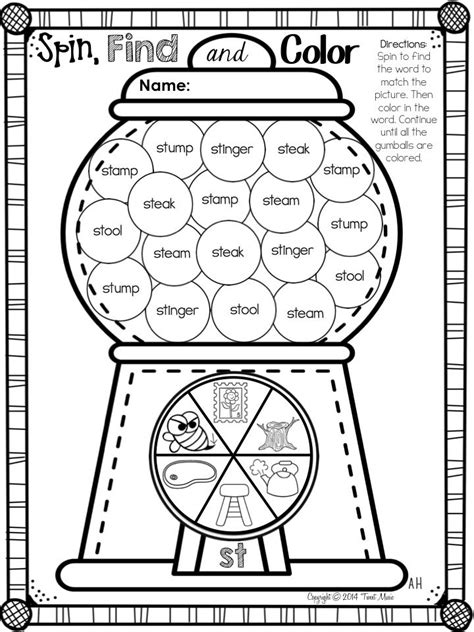 L Blends Coloring Pages by Teaching Blends 1st Grade Blends Worksheets