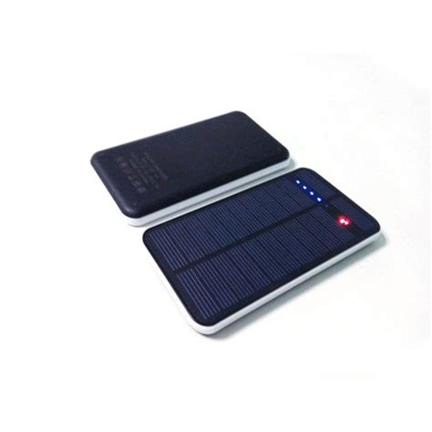 Power Bank Solar Cell 12000mah ultra thin touch 12000mah solar power bank for iphone