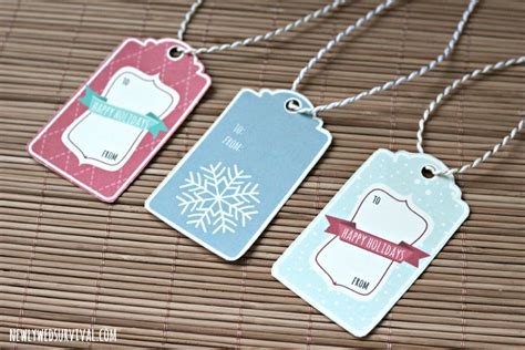 printable gift tags with string easy gift wrapping with ornaments free printable gift