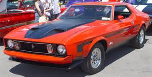 Ford Of Orange Bestand 1973 Ford Mustang Orange Jpg