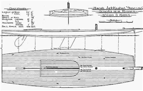 scow boat designs earwigoagin the swallow scow plans the rudder magazine s