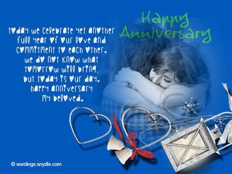 Wedding Anniversary Msg by Wedding Anniversary Messages For Wordings And Messages