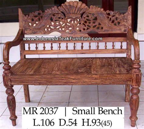 indonesian teak bench carved teak bench indonesia