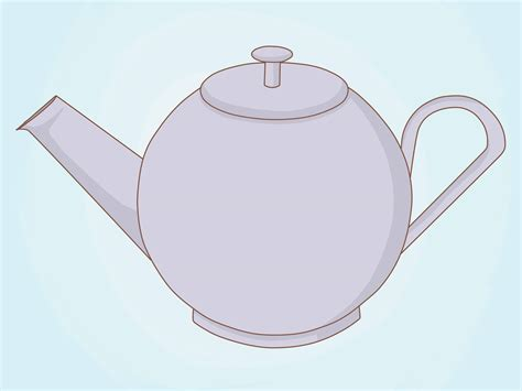 how to drqw how to draw a teapot 6 steps with pictures wikihow