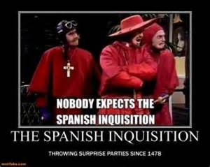 Monty python spanish inquisition related keywords amp suggestions
