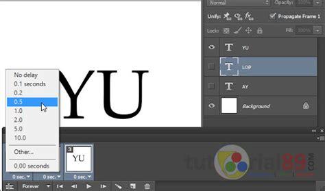 format tulisan lop cara mudah membuat dp bbm bergerak di photoshop tutorial89