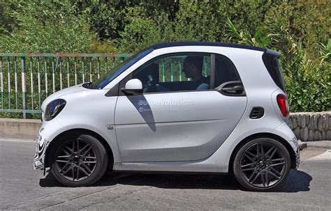 smart car 2016 2016 smart fortwo brabus spotted in production guise
