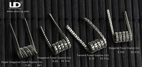 Design Of Wire Fused Clapton Ni Sweden Best Flavour Coil Murah Enak charming nichrome coil wire gallery electrical circuit