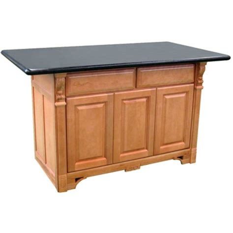 Maple Kitchen Islands Base Only Newbury Mix N Match Kitchen Island Base Cambridge Maple Finish Bargain Outlet