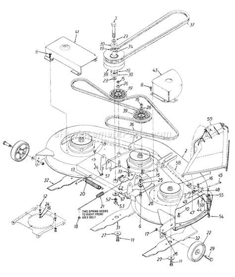 yardman lawn mower belt diagram mtd 46 inch deck belt diagram iplimage php illustration