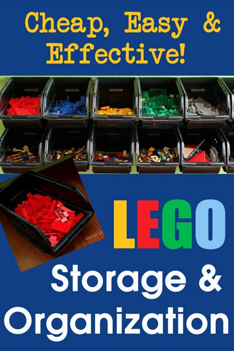 cheap organization cheap easy lego storage organizer happiness is homemade