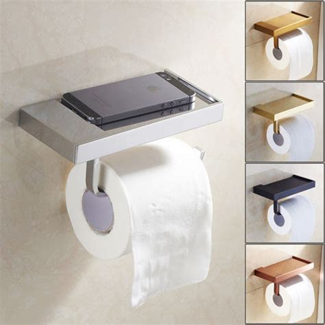 toilet paper holder with shelf toilet paper holder with cell phone shelf toilet paper