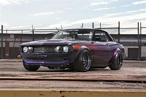this toyota celica has the of a honda s2000