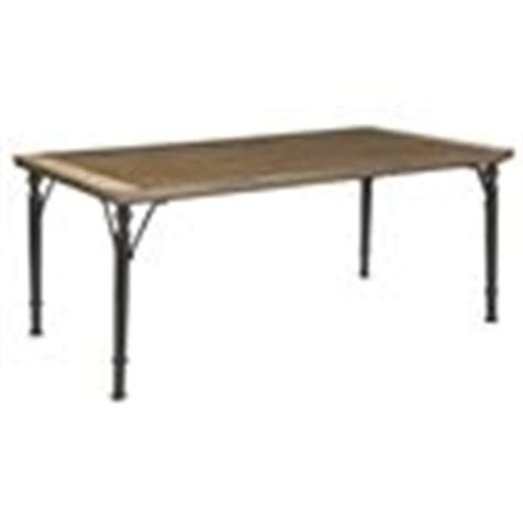 tripton rectangular dining room table d530 25 tables signature design by ashley tripton medium rustic brown