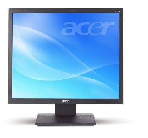 Monitor Forsa lcd monitor acer 17 for sale cheap the computer