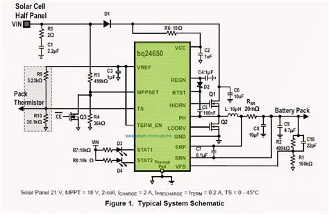 3 stage battery charger circuit synchronous switch mode mppt battery charge controller circuit