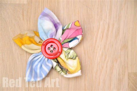 fabric crafts simple 17 best ideas about easy fabric flowers on