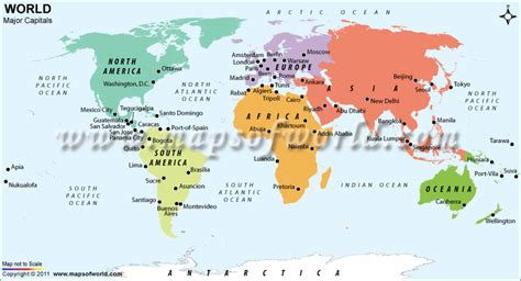 world maps  countries  capitals world map vector