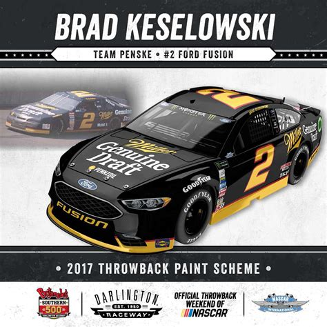 2017 paint schemes 2017 darlington throwback paint schemes photo galleries