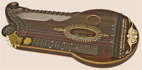 Gift For Home Decoration by Arion Harp Zither By Franz Schwarzer Workshop Ca 1920