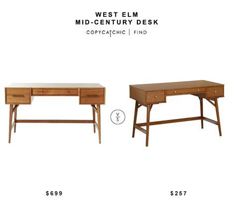 west elm mid century desk mid century desks mid century duocube desk with glass top