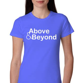 Above Beyond 7 T Shirt Size S 187 above and beyond tshirt trance techno womens t shirt